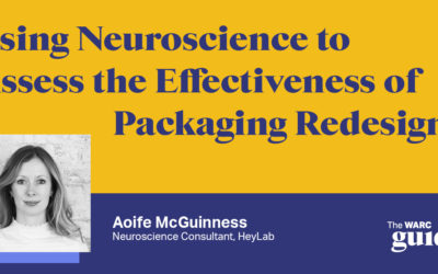 WARC: How can we use neuroscience to assess the effectiveness of packaging redesign?